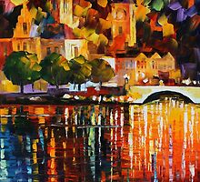 THE LIGHT OF HISTORY - LEONID AFREMOV by Leonid  Afremov