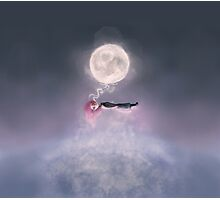 Moonsende / Back to Home Photographic Print