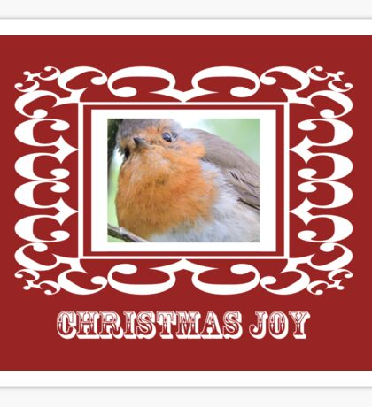 Christmas Joy Sticker