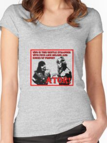 Ator The Invincible!   Women's Fitted Scoop T-Shirt