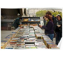 Bookstall, London's South Bank Poster