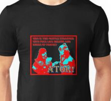 Ator the Invincible!  bright for dark backgrounds Unisex T-Shirt