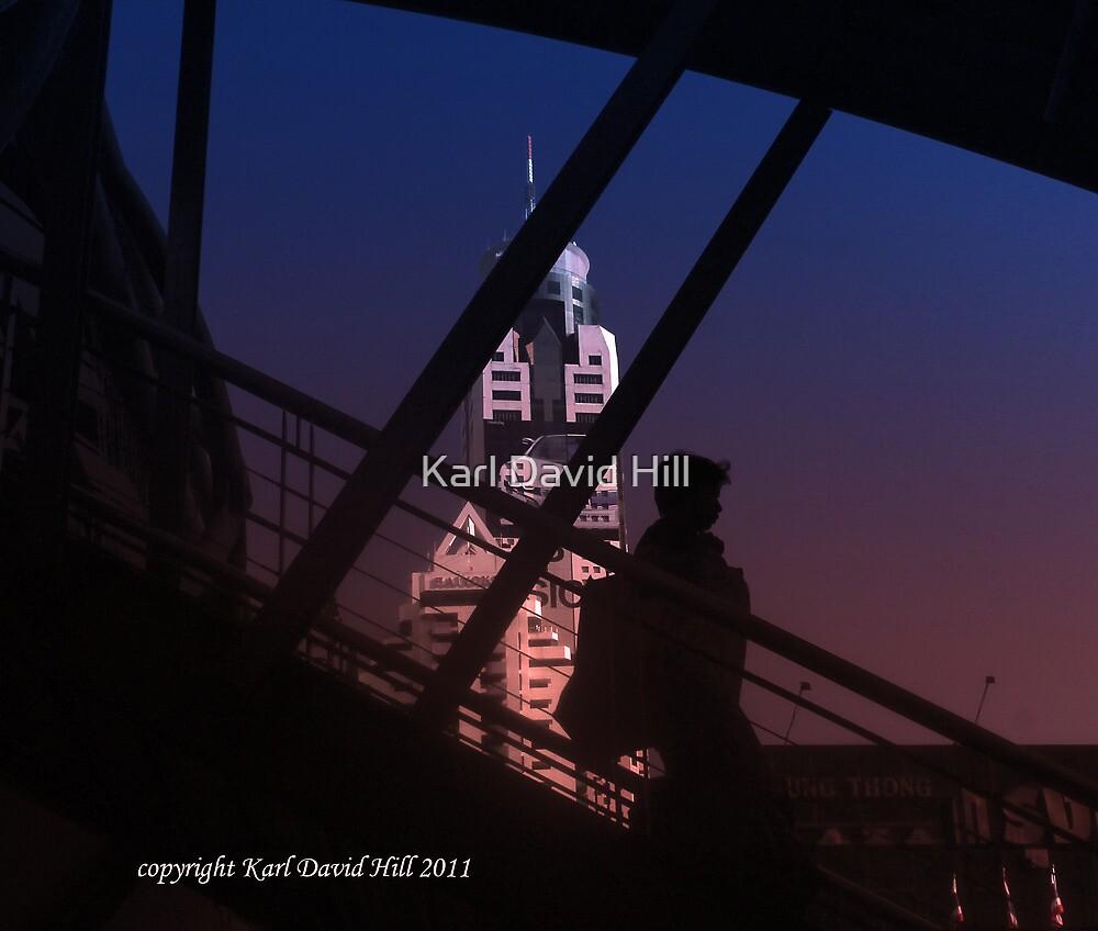 bangkok morning 2 by Karl David Hill