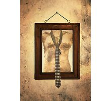 Woman Torso In Frame Photographic Print