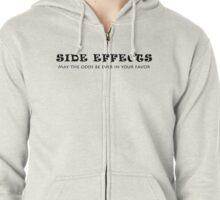 Side Effects Zipped Hoodie