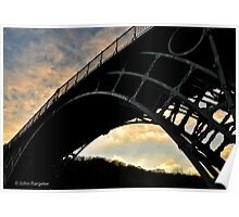 The Ironbridge, Shropshire Poster