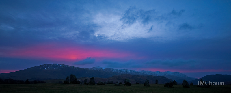 Castlerigg at Sunrise by JMChown