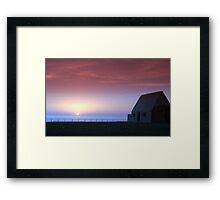 Fisherman Cottage Framed Print