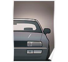 Modern Euro Icons Series VW Corrado VR6 (Split) Poster