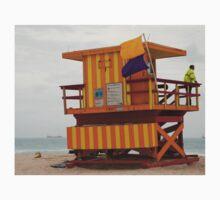 stripes - miami beach One Piece - Short Sleeve