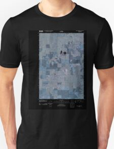 USGS Topo Map Washington State WA Saint Andrews 20110425 TM Inverted Unisex T-Shirt
