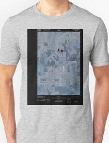USGS Topo Map Washington State WA Saint Andrews 20110425 TM Inverted Unisex T-Shirt