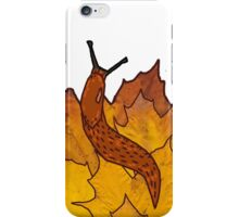 Autum Slugs iPhone Case/Skin