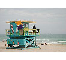 miami beach colours Photographic Print