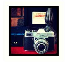 Kodak Retina Reflex Part 1 Art Print