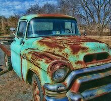 Old Flatbed Truck by James Brotherton