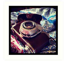 Kodak Retina Relfex Part 2 Art Print