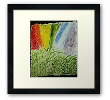 Genesis Laurel Rainbow Framed Print
