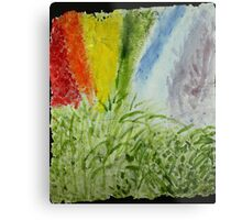 Genesis Laurel Rainbow Metal Print