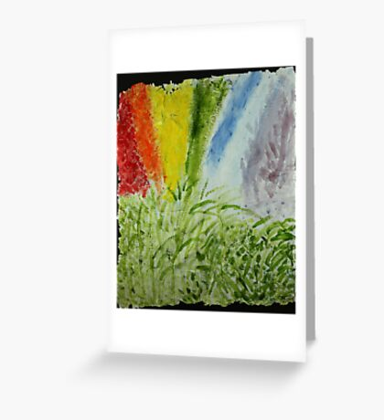 Genesis Laurel Rainbow Greeting Card
