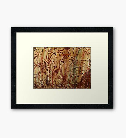 Underwater Safari Framed Print