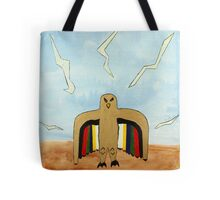 Dancing Robot  Bird Tote Bag