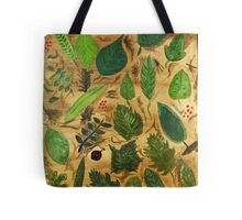 Wisconsin Leaves Tote Bag