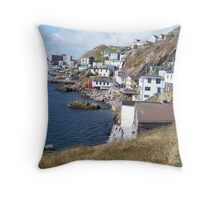 St John's Newfoundland Throw Pillow