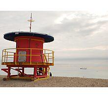 no lifeguard on duty Photographic Print