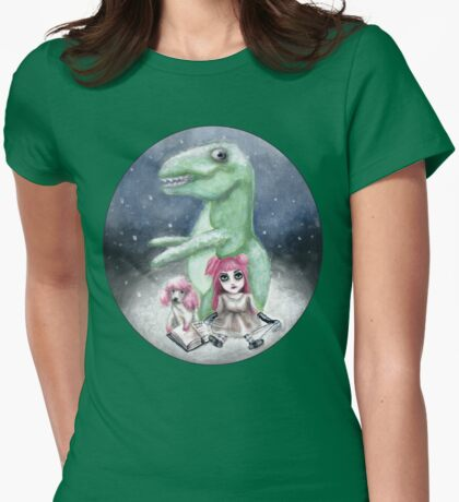 Kimmy and Rex Womens Fitted T-Shirt