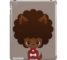Werewolf afro girl iPad Case/Skin