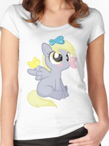 DERP Women's Fitted Scoop T-Shirt