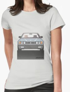 Modern Euro Icons Series Bmw E32 740i (Split) Womens Fitted T-Shirt