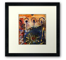 My Own Painted Desert - COMPLETED Framed Print