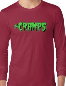 The Cramps GREEN FUZ Long Sleeve T-Shirt