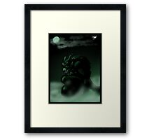 Beast Within Poster Framed Print