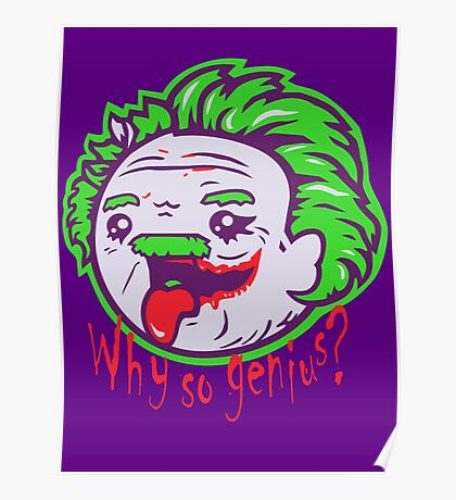 Why So Genius ? Poster