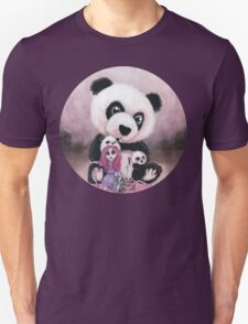 Candie and Panda Unisex T-Shirt