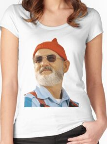 Steve Zissou Women's Fitted Scoop T-Shirt