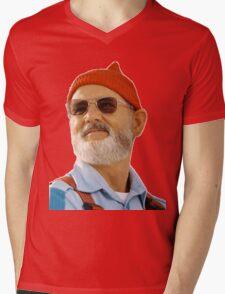 Steve Zissou Mens V-Neck T-Shirt