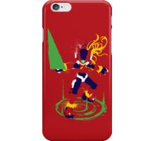 Mega Man Zero Splattery Shirt & iPhone Case iPhone Case/Skin