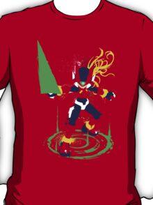 Mega Man Zero Splattery Shirt & iPhone Case T-Shirt
