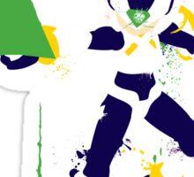 Mega Man Zero Splattery Shirt & iPhone Case Sticker