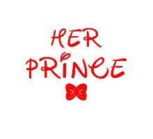 HER PRINCE Photographic Print