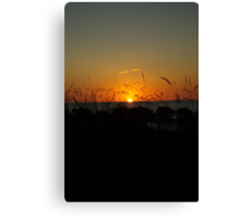 Gulf Sunrise Canvas Print