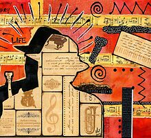 Music is My Sanctuary by © Angela L Walker
