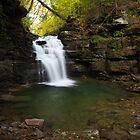 Big Falls - Autumn Tranquility by Tim Devine