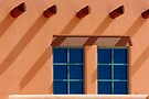 Windows Blue ~ New Mexico Style by Vicki Pelham