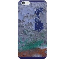 Graffiti Blue Spot iPhone Case/Skin