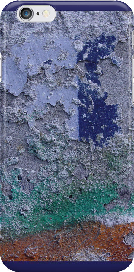 Graffiti Blue Spot by Titia Geertman